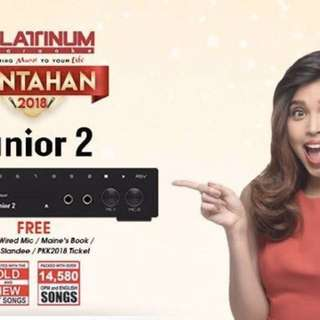 Platinum Karaoke for rent! 13k++ songs