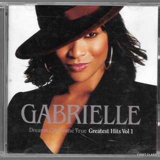 MY PRELOVED CD - GABRIELLE GREATEST HITS VOL.1 / FREE DELIVERY(F3E)