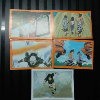 Official Naruto stickers