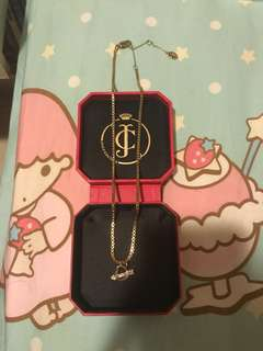 Juicy couture 心形頸鏈