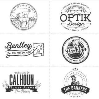 Custom logo business personal branding