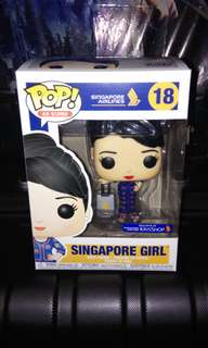 (ON HAND) Singapore Airlines Stewardess Exclusive Funko Pop