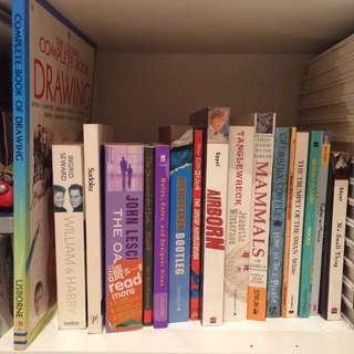 English novels paperbacks