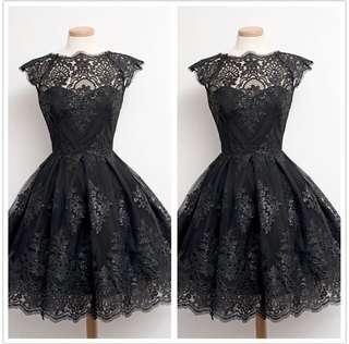 Dinner dress (lace dress) PO