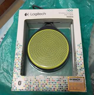Logitech 藍牙 wireless speaker x100 無線音箱