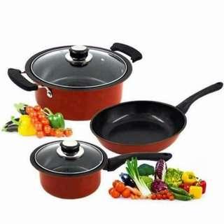 5pcs nonstick cookware