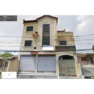FOR SALE BANK FORECLOSED RESIDENTIAL/COMMERCIAL HOUSE IN NOVALICHES QC