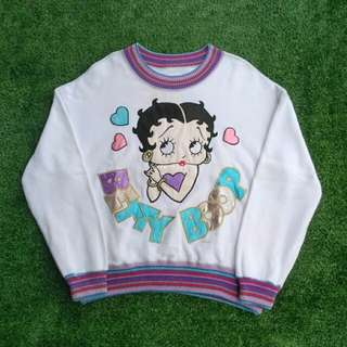 Vintage Betty Boop Sweater
