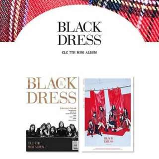 [PREORDER] CLC Black Dress
