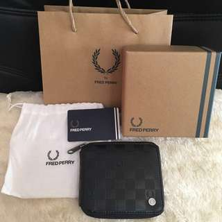 RE-PRICED Fred Perry Wallet