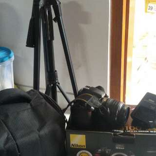 Nego tipis. Jarang dipake. Bonus tas kamera + tripod. Surat2 masih lengkap. Box masih bagus. No memory sama tutup lensa hilang
