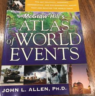 McGraw-Hill's Atlas of World Events