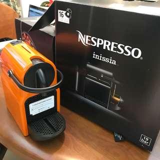 Nespresso Inissia 咖啡機 全新
