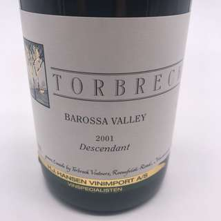2001 Torbreck The Descendant Shiraz Viognier