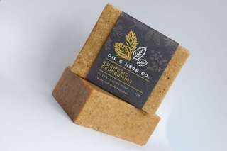 Turmeric Peppermint Natural Body Soap