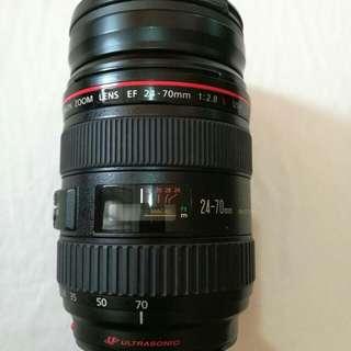 Canon 24-70mm f2.8 mk l usm lens