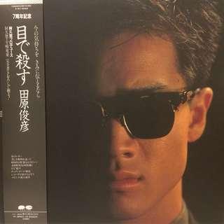 田原俊彥 黑膠唱片 Toshihiko Tahara Vinyl Record