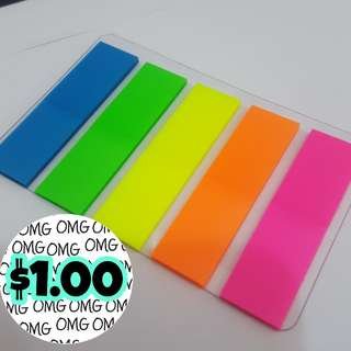 📮Free NORMAL postage 💯Brand New Waterproof Luminous Post It Tags