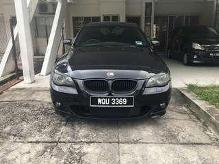 BMW E60 525i M SPORT ORI