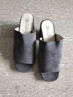 Slip On Platform Heels Shoes