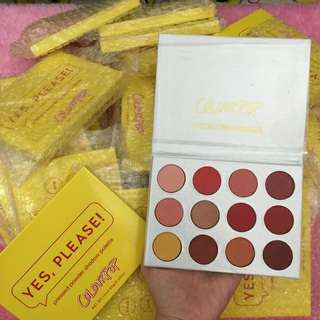COLOURPOP Cute AF Yes Please Eyeshadow Pallete