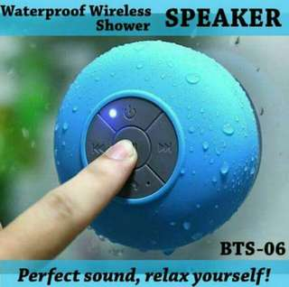 Waterproof Bluetooth Shower Speaker (BTS-06)