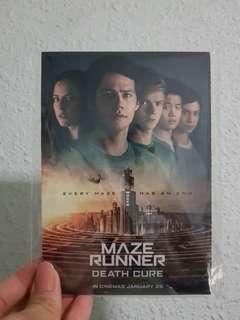 Maze Runner postcard set (free)