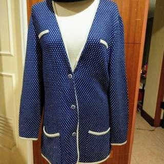 🚚 L/XL 尺碼 千鳥紋高磅毛衣