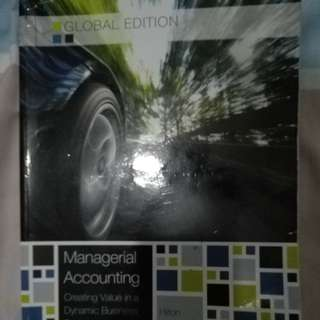 Managerial Accounting Textbook Hilton Platt