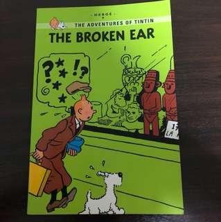 The adventures of Tin tin : the broken ear