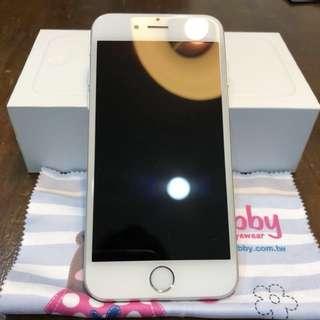蘋果 I phone 6手機,64G、銀色4.7吋、機況良好
