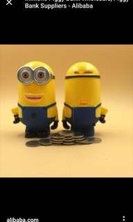 Looking for minion coin bank