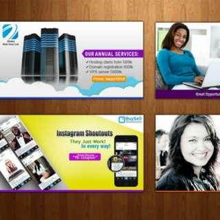Design banner graphic printing online designer
