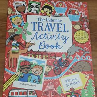 Usborne Travel Activity book - BBW Book