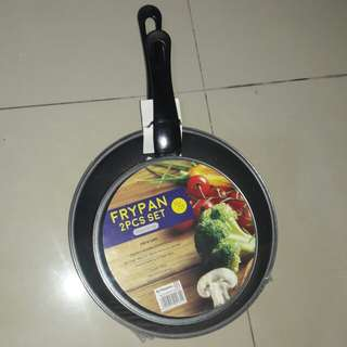 MASPION FRYPAN TEFLON 2 PCS SET