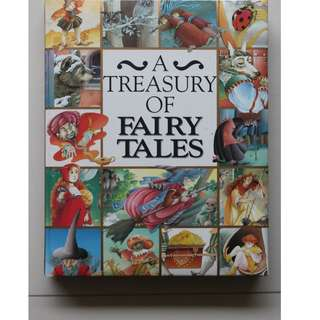 English Book : A Treasury of Fairy Tales