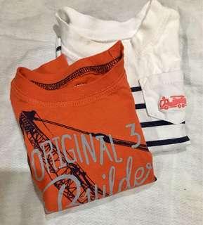 Carters shirt bundle