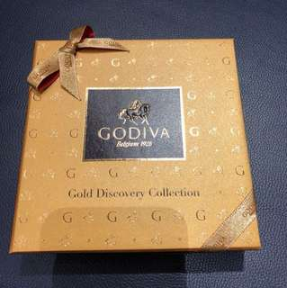 Godiva Chocolates - Gold Discovery Collection - New in Gift Box