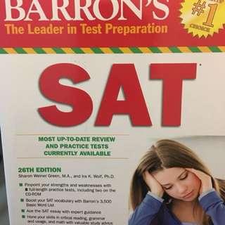 Barron's SAT (26th Edition)