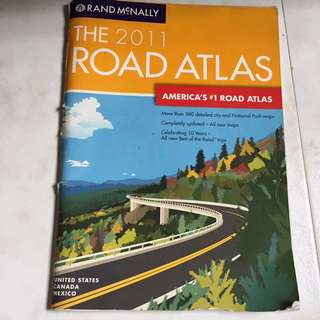 USA Road Atlas for road trips when you have no reception/GPS