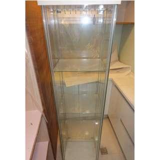四面全玻璃直立式展示櫃