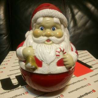 懐舊聖誕老人音樂不倒翁