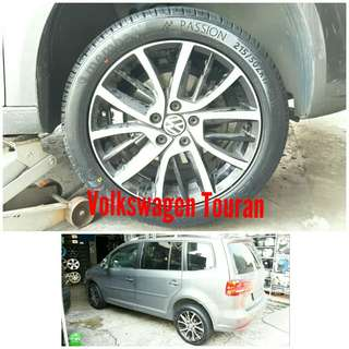 Tyre 215/50 R17 Membat on Volkswagen Touran 🐕 Super Offer 🙋♂️