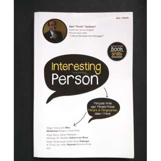 Buku Interesting Person (Bekas)