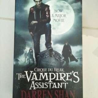 Novel - The vampire's assistant