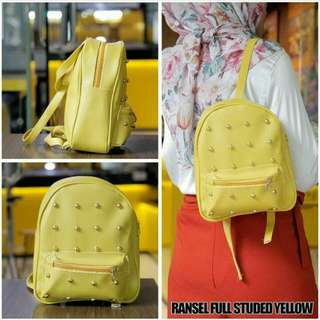 Ransel Full Studed Yellow