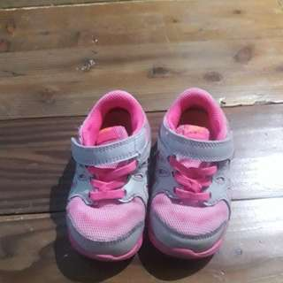 Nike babies rubber shoed