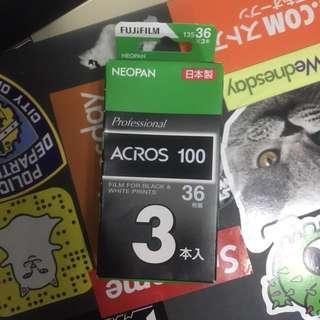 Fujifim Acros 100