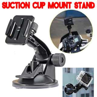 TGP019G Flexible Strong Suction Mount Holder for GoPro SJCAM Xiaomi Xiaoyi Yi Camera Car Bike