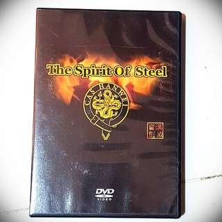 Spirit of steel DVD for sword lover